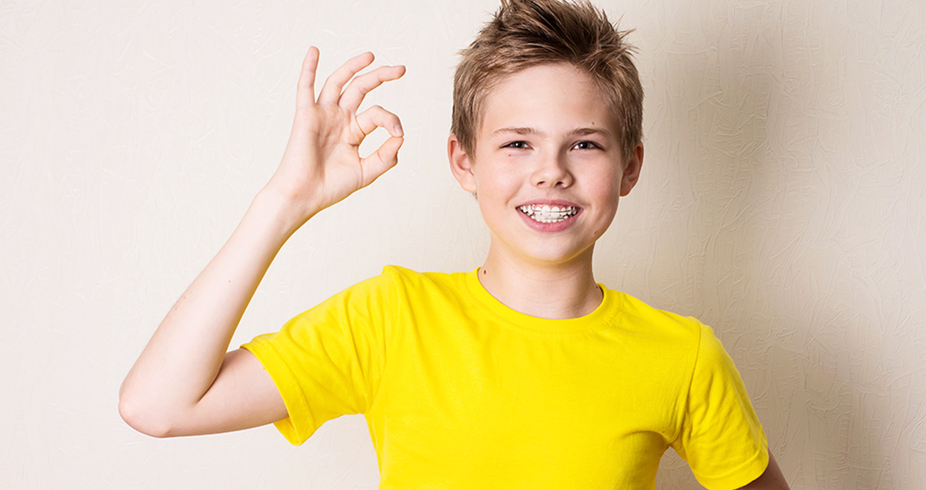 Boy in Yellow Shirt